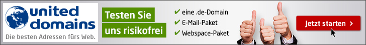 Webhotangebote united-domains